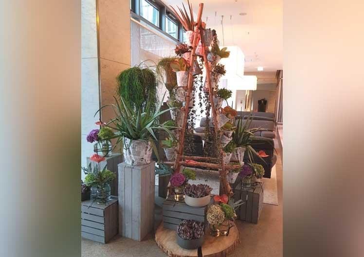Saisonale Lobby-Dekoration 1