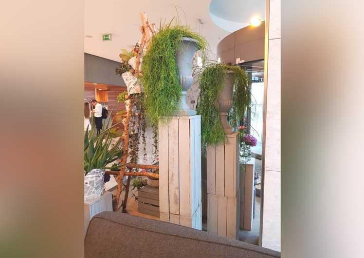 Saisonale Lobby-Dekoration 2