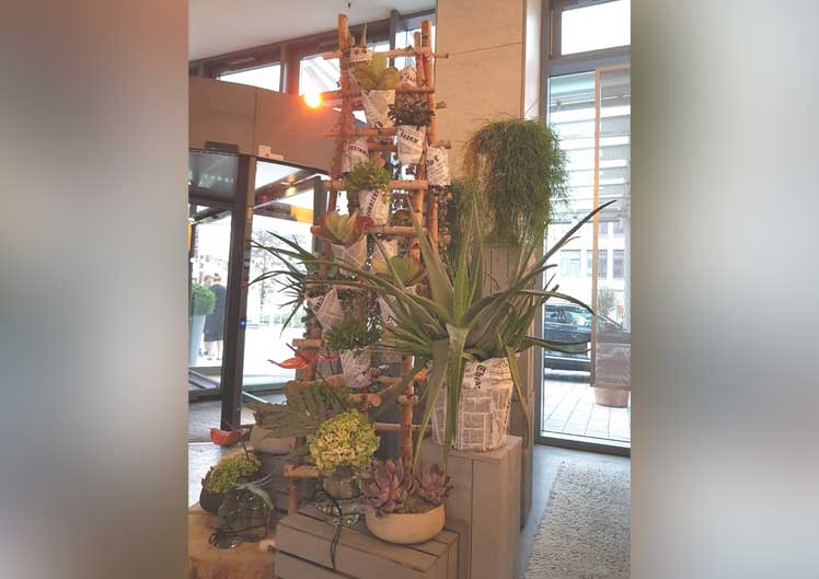 Saisonale Lobby-Dekoration 4
