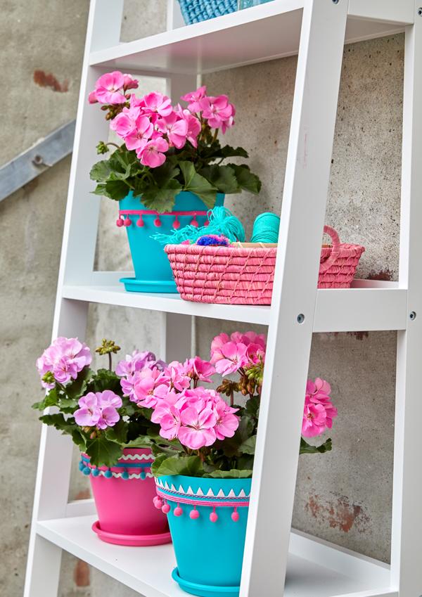 Selbermachen Dekoration mit Blumen 1
